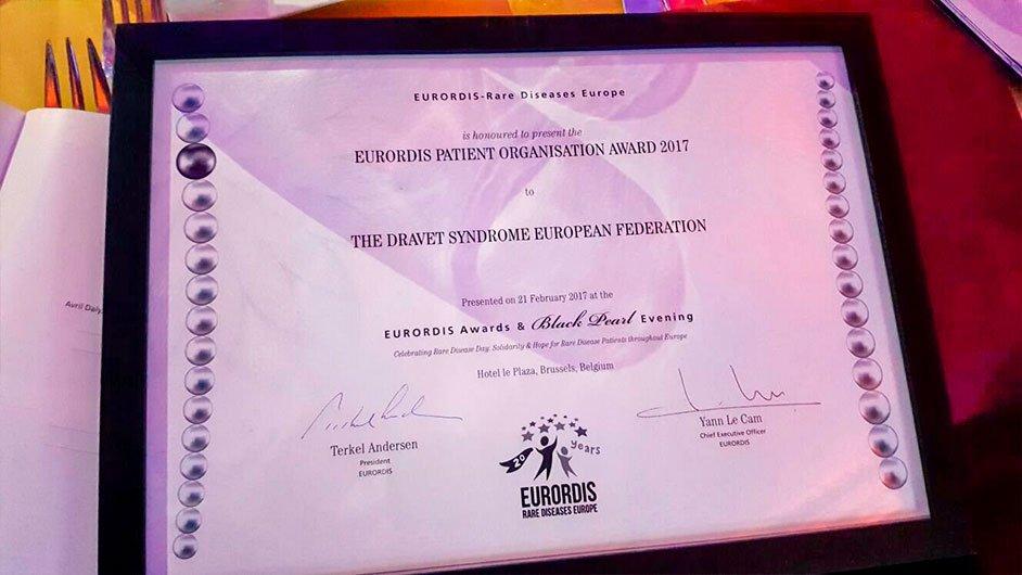 Diploma Dravet Syndrome European Federation