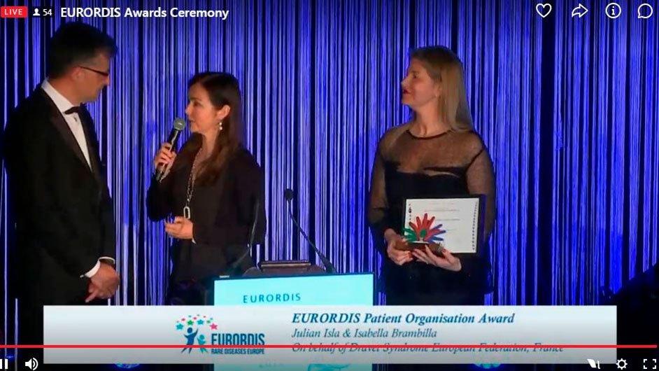 Eurordis Awards Ceremony