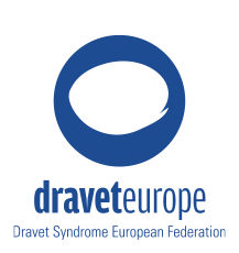 Logo Dravet europe, Dravet Syndrome European Federation